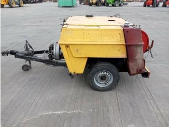 Harben Single Axle High Pressure Jetter Washer - alet/ ekipman