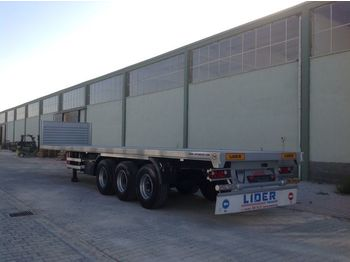 LIDER 2020 YEAR NEW MODELS containeer flatbes semi TRAILER FOR SALE - açık/ sal dorse