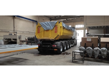 NOVA NEW 4 AXLE TIPPER TRAILER - damperli dorse